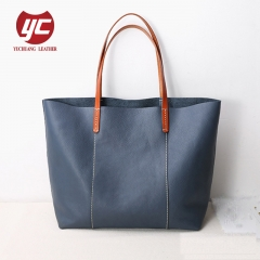 Hot sale High quality PU fashion lady shopper bag tote bag with inner bag