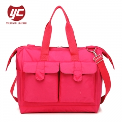 Hot sale multifunctional large capacity fashion Mummy bag Mami bag diaper bag