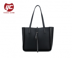 New design shopper tote bag with studs, new trend