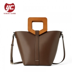 Fashion handbag PU leather lady crossbody bag wholesale