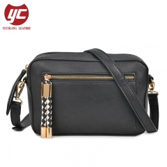 Hot selling zippers crossbody bag for woman from China manufacturer
