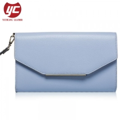 New Article Trendy PU Clutch Purse Wallet for Ladies