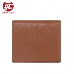 Best Selling Wholesale Pebble PU Leather Women Wallet Short Style