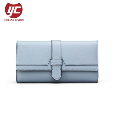 Fashion Tri-Folded Female Wholesale Wallets Long Style