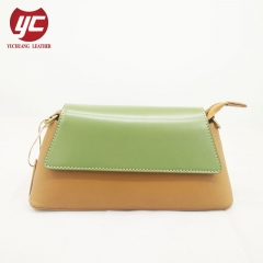 Wholesale Price Customized Cow Leather Women Shoulder Bag Crossbody