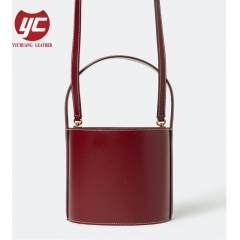 PU Leather Women Bucket Hand Bag